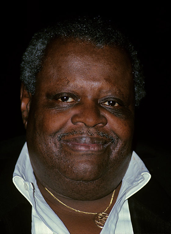 Oscar Peterson portrait