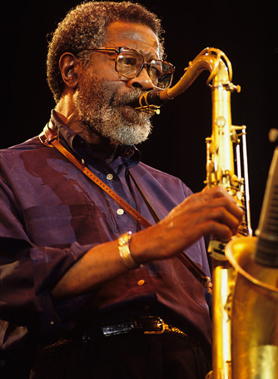 Joe Henderson on stage