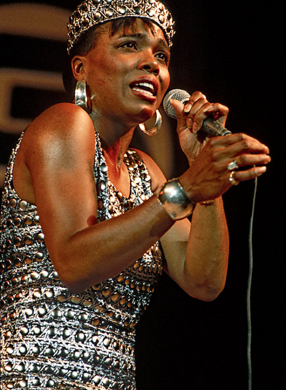 Dee Dee Bridgewater on stage