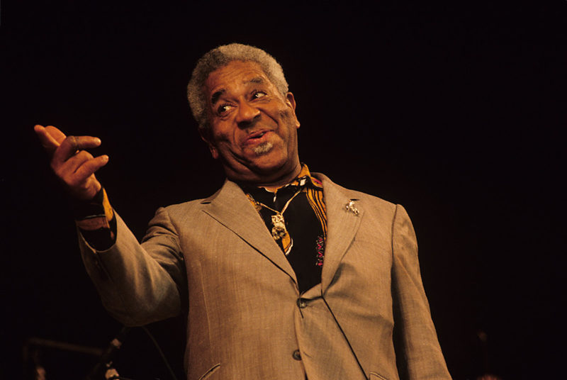 Dizzy Gillespie on stage