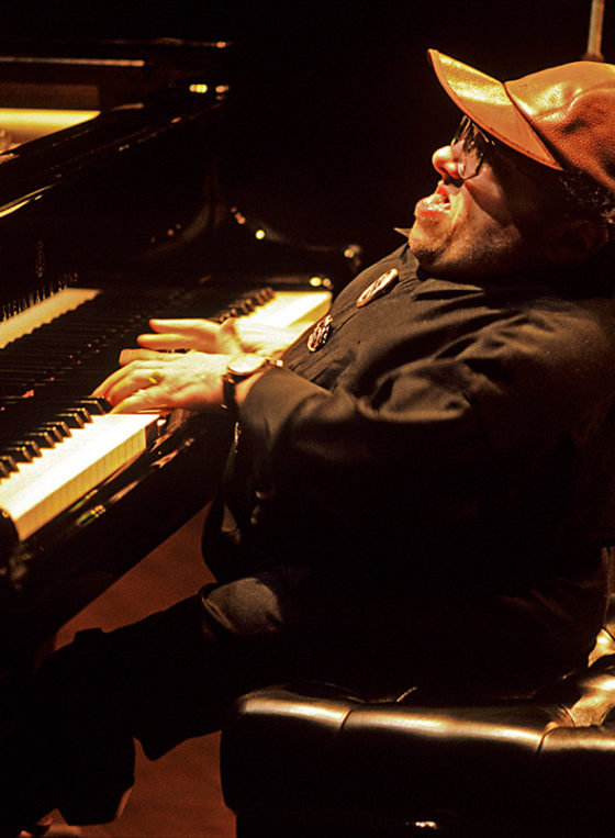 Michel Petrucciani on stage