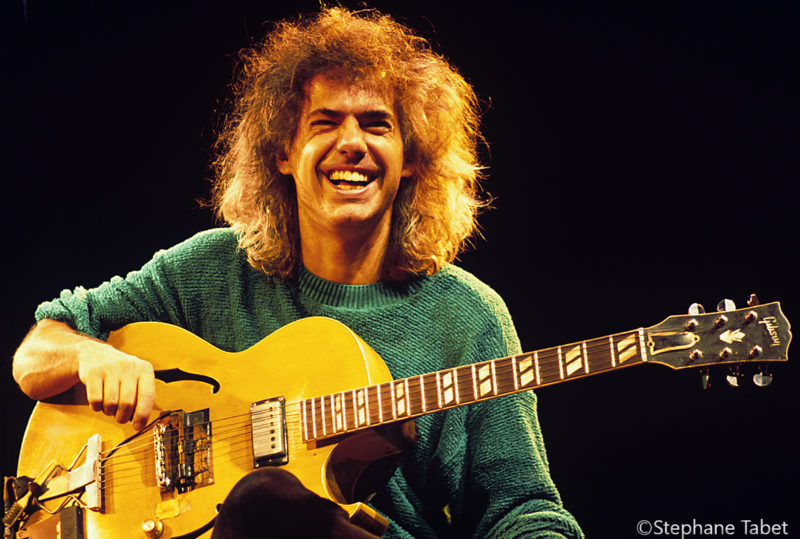 Pat Metheny portrait