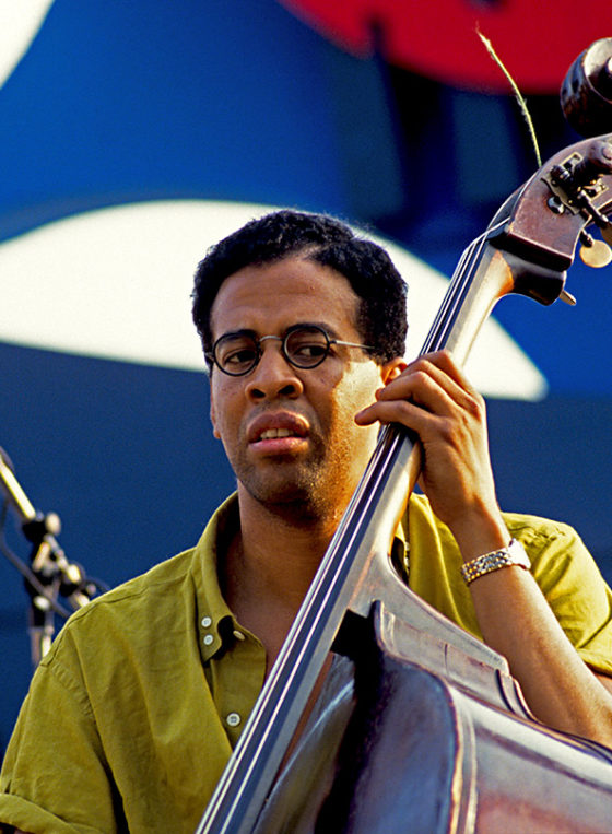 Stanley Clarke playing double bass